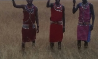 A trio of Masai Worriors